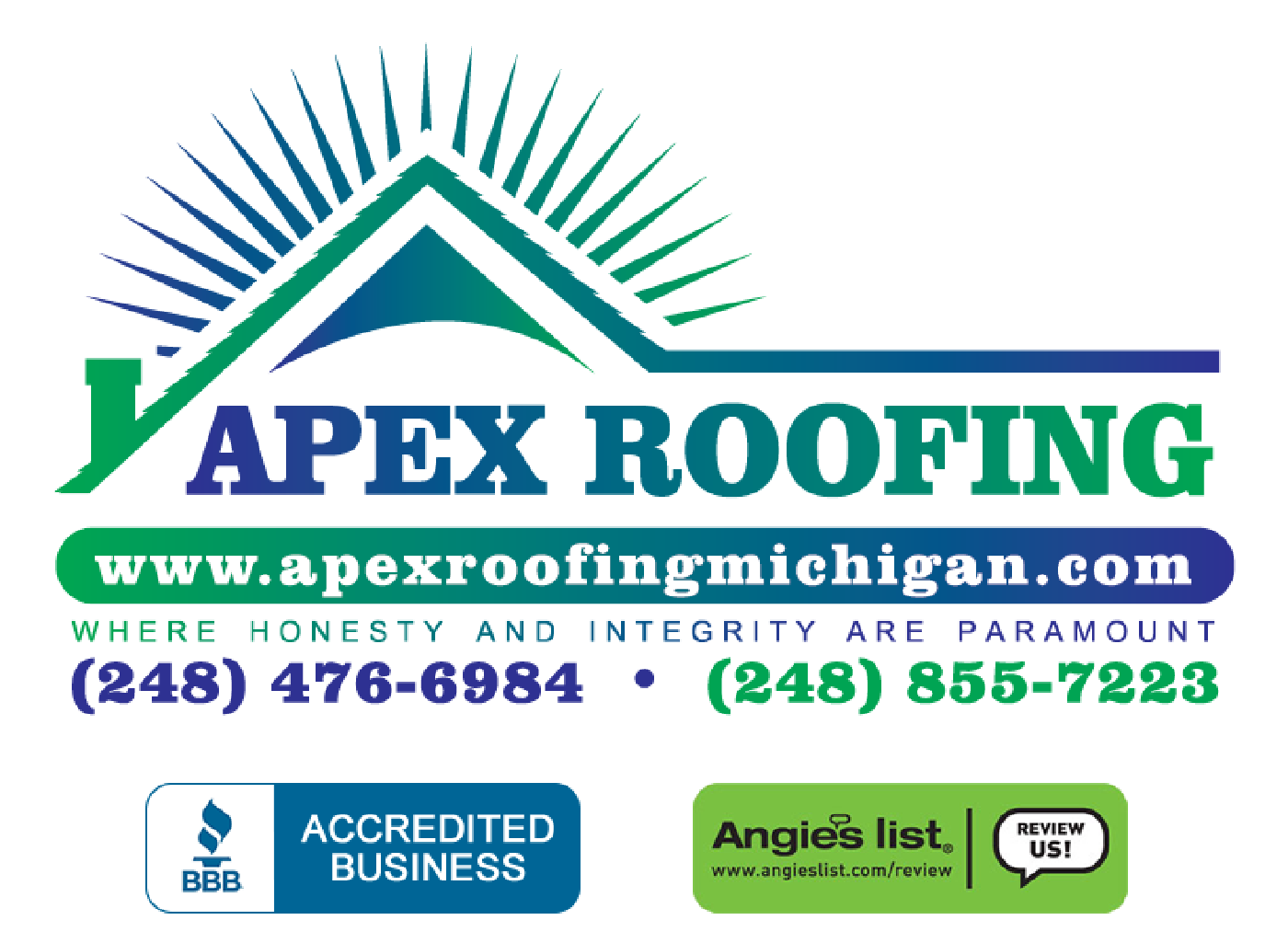 Attractive APEX Roofing   Roofing Construction In Southeast Michigan